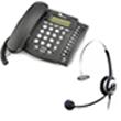 Telefono T6550 con cuffia telefoncia professionale per call center