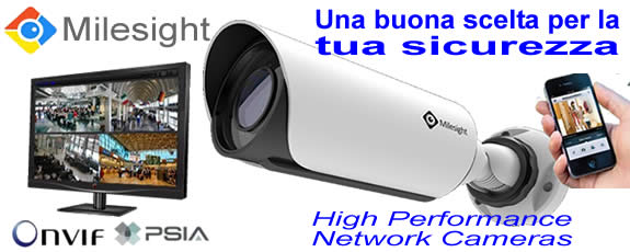 Milesight videocamere IP