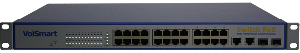 centralino voip switch poe