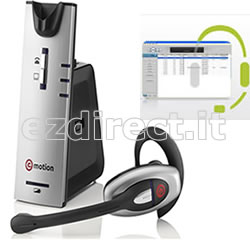 Cuffia con mcirofono wireless usb w880